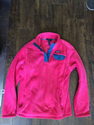 Patagonia girls size large-14 berry color for Sale in Arlington, VA