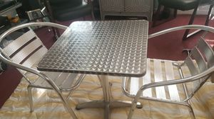 Restaurant style tables with chairs for Sale in Durham, NC