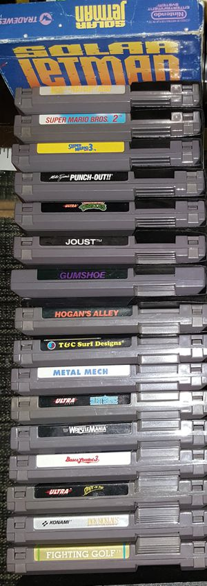 Nes games for Sale for sale  Lathrop, CA