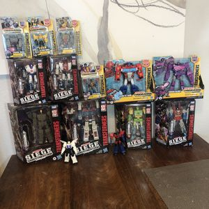 Transformers Toy bundle Takara Tomy Hasbro for Sale in Chula Vista, CA