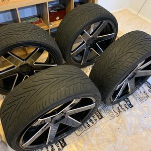 24' Verde Invictus Wheels w/ tires for Sale in Fort Lauderdale, FL