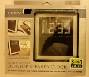 New 3 in 1 clock for Sale in Southfield, MI
