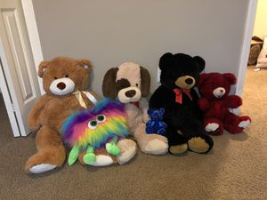 Teddy Bears/Stuffed Animals for Sale in Vancouver, WA
