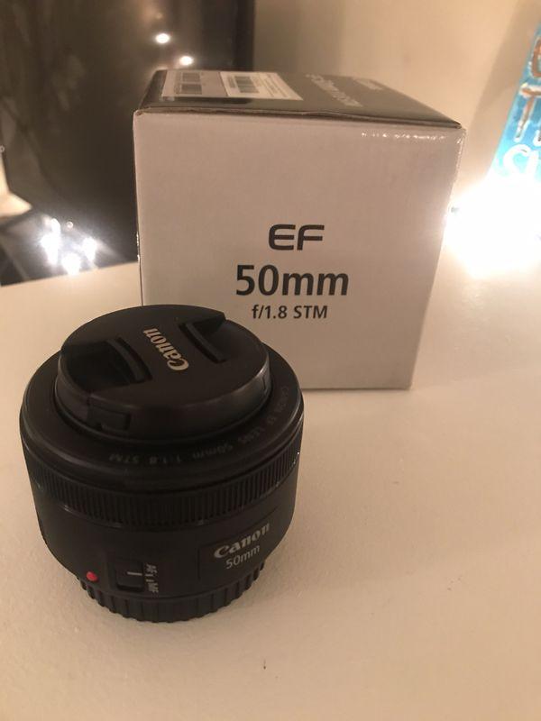Canon Lens 50mm f/1.8