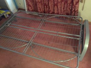 Futon frame works for a full size mattress for Sale in Bluffton, IN
