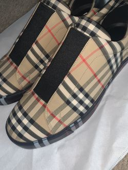 Burberry Check Slip on Shoes for Sale in Laurel,  MD