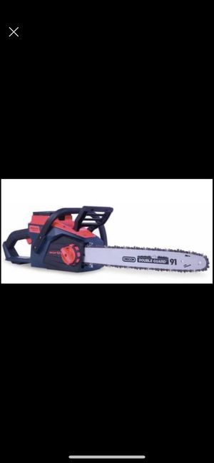 WORTH BRUSHLESS CHAIN SAW 84V LITHIUM POWER MAX ELECTRIC for Sale in Tampa, FL