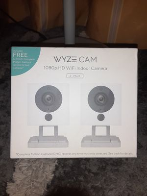 Wize security Camera set 2-Pack for Sale in Houston, TX