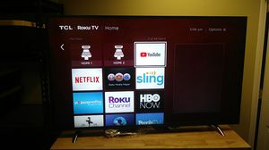 TCL. Roku TV model 55p605 for Sale in Snellville, GA