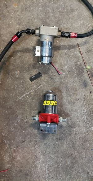 Jegs fuel pump and fuel filter for Sale in Tacoma, WA
