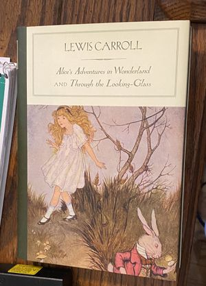 Alice in Wonderland hardcover book for Sale in St. Louis, MO