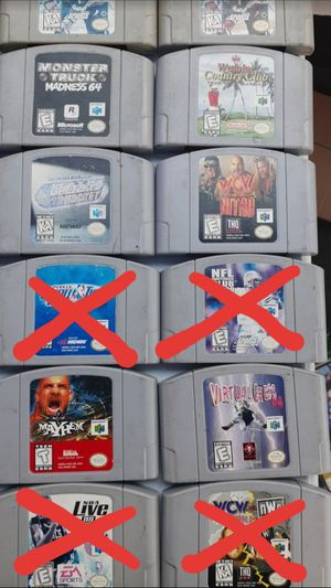 Nintendo 64, Super Nintendo, Super Nintendo for Sale in Montclair, CA