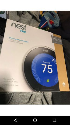 Brand New Nest Pro Thermostat for Sale in Los Angeles, CA