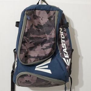 Easton Baseball Softball Youth 2 Bat Bag Backpack Blue Camo for Sale in Brookfield, IL