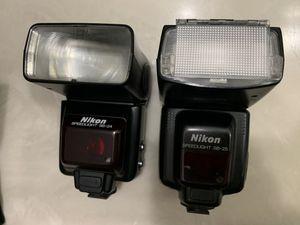 Nikon Speedlight SB-24 & Nikon Speedlight SB-25 for Sale in San Jose, CA