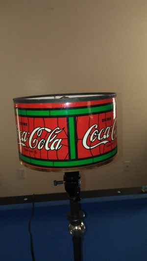 Coca-Cola lamp shade for Sale in Litchfield Park, AZ
