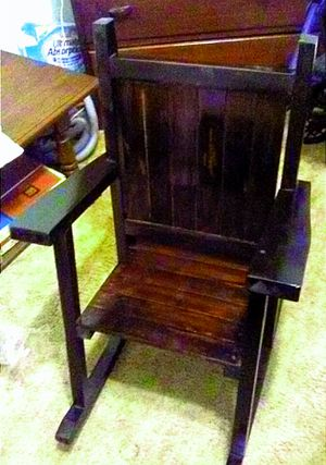 Handmade rocking chair completely customizable. for Sale in Belington, WV