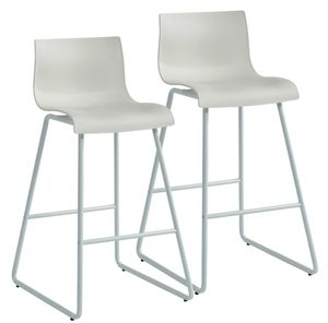 Set of 2 white Barstools Brand New In Box for Sale in Fenton, MO