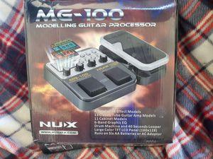 NUX MG 100 MULTI EFFECTS PROCESSOR for Sale in San Juan Capistrano, CA