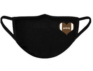Football heart face mask for Sale in York, PA