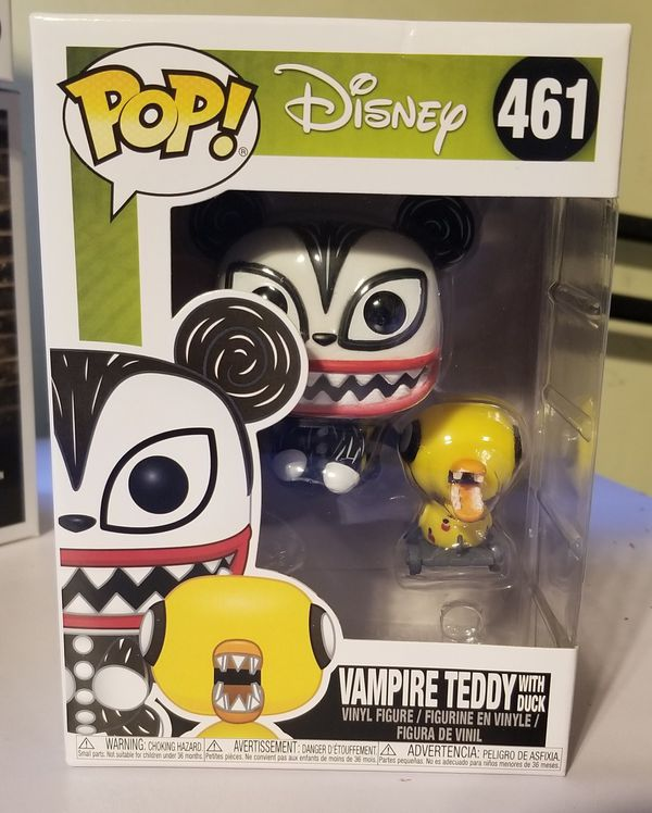Disney T.N.B.C vampire teddy with duck funko pop