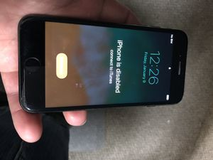 iPhone 7 IPhone disabled T mobile send best offer for Sale in Sacramento, CA