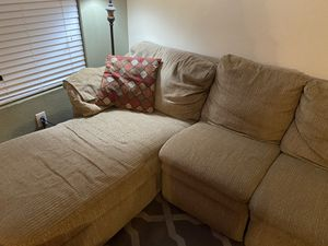 Lazy Boy Sectional with Recliner and Sofa bed for Sale in Highland, CA