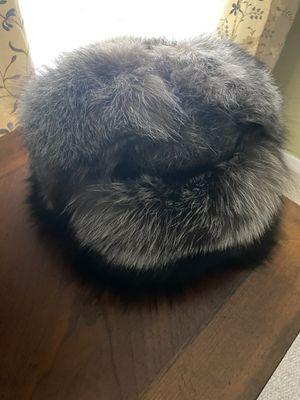 Silver fox fur hat for Sale in Paducah, KY