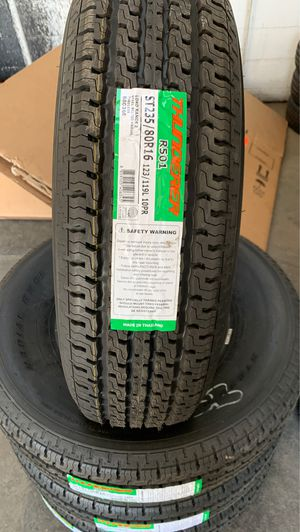 Trailer tires 235/80/16 for Sale in Elk Grove, CA