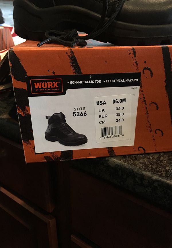 WORX by Red Wing Shoes steel toe high top boot
