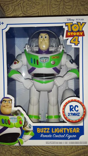 TOY STORY 4 BUZZ LIGHTYEAR FIGURE WITH REMOTE CONTROL NEW TOYS $15 ✔✔✔PRICE IS FIRM✔✔✔ for Sale in South Gate, CA