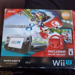 Nintendo WiiU With Mario Kart 8 And Smash Bros for Sale in Los Angeles,  CA