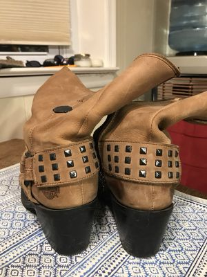 Women's size 8 Harley Davidson leather boots for Sale in Silver Spring, MD