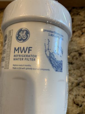 MWF GE Water Filters for GE refrigerators for Sale in Chino Hills, CA