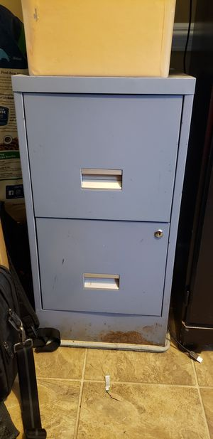 2 drawer file cabinet for Sale in Raleigh, NC