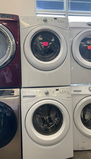 Whirlpool Washer and Dryer set perfect condition for Sale in Bowie, MD