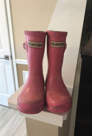 Hunter boots- toddler for Sale in Chantilly, VA