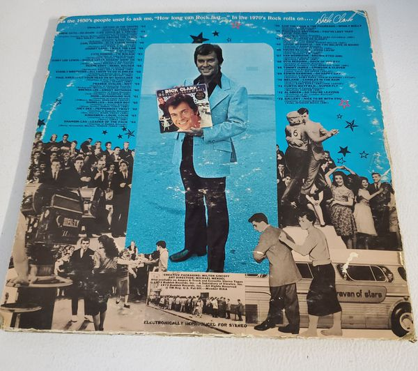 Dick Clark Rock n Roll two record set collectors edition.