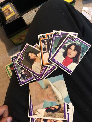 Hundreds of Charlie's angels cards for Sale in North Plainfield, NJ