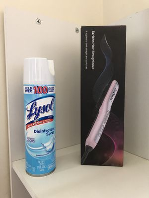 New Salon Hair Straighter & Lysol Spray for Sale in Danville, PA