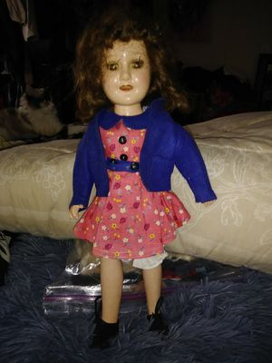 Vintage Ideal doll with clothing for Sale in Gaston, SC