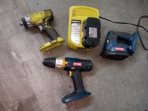 Ryobi power tools impact sander drill. for Sale in Pasco, WA