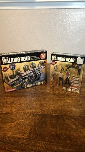 New McFarlane Toys The Walking Dead Building Set Daryl with Chopper 14525 FP20 THE WALKING DEAD BUILDING SETS FIGURE PACK (McFarlane, 2014) NEW 14 for Sale in Chula Vista, CA