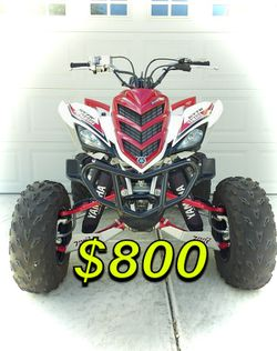 🍀2OO8 Yamaha Raptor 700cc🍀Loaded No Issues-$8OO🍀 for Sale in Montgomery,  AL