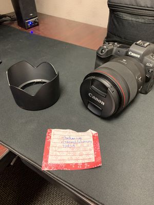 Canon RF 50mm f/1.2 Lens for Sale in Tampa, FL
