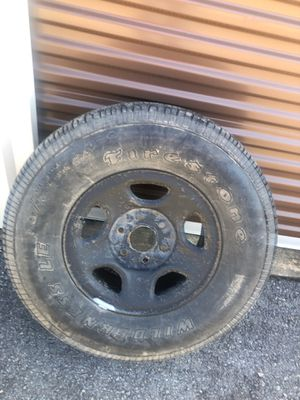 Chevy Tahoe spare tire for Sale in Alexander, AR