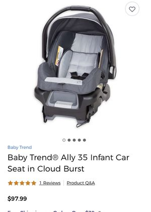 Baby Trend Infant Car Seat for Sale in Tampa, FL