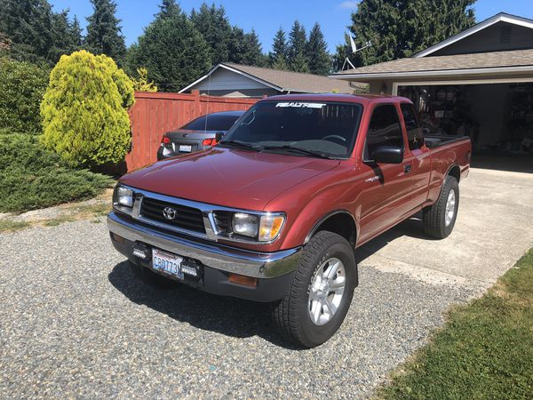 1996 Toyota Tacoma 4wd. Automatic v6 3.4l for Sale in ...