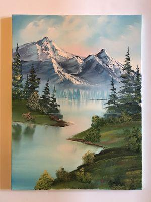 Beautiful Original   PNW Oil Landscape Painting for Sale in Seattle, WA