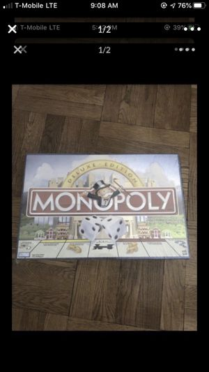 Monopoly deluxe edition brand new for Sale in Guttenberg, NJ